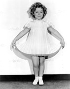 1935 Movies Photos - Curly Top, Shirley Temple, 1935 by Everett
