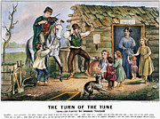 Currier  Ives Folk Tradition Print by Granger