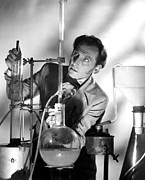 1957 Movies Photo Prints - Curse Of Frankenstein, The, Peter Print by Everett