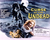 1959 Movies Framed Prints - Curse Of The Undead, Kathleen Crowley Framed Print by Everett