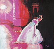 Stage Lights Painting Originals - Curtain Call by Judy Kay