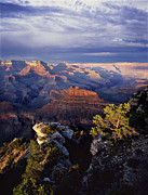 Grand Canyon Photo Metal Prints - Curtain Call Metal Print by Mike Buchheit