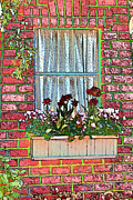 Curtains Digital Art Posters - Curtains Poster by Tom Prendergast