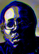 Funk Digital Art - Curtis Mayfield by Byron Fli Walker