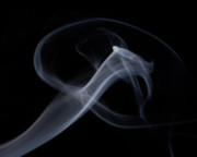 Smoke Art Prints - Curve Print by Bryan Steffy
