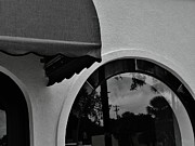 Palatka Photos - Curved awning and window by Robert Ulmer
