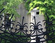 Dorsoduro Prints - Curved Gate Print by Vicki Hone Smith