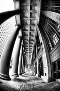 Union Station Metal Prints - Curves at Union Station Metal Print by John Rizzuto
