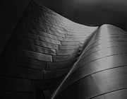 Concert Photos Prints - Curves Frank Gehry AIA Print by Chuck Kuhn