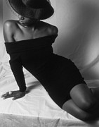 Draped Photos - Curves by Jerry Taliaferro