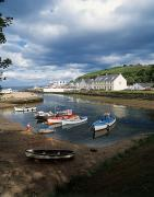Small Towns Metal Prints - Cushendun, Co. Antrim, Ireland Metal Print by The Irish Image Collection