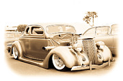 Viva Las Vegas Photos - Custom 1936 Ford by Steve McKinzie