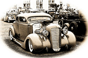 1932-1937 Framed Prints - Custom 35 Ford Framed Print by Steve McKinzie