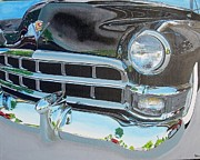 Caddy Paintings - Custom Caddy by Butch Henry