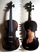 Custom Gliga Violin 2 Print by Dino Muradian