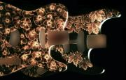 Electric Pyrography - Custom Guitar Bodies by Dino Muradian