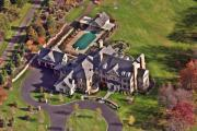 Aerial Photo - Custom Home Blue Bell Pennsylvania II by Duncan Pearson