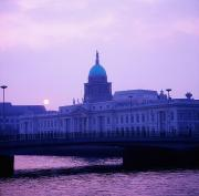 Republic Building Photos - Custom House, Dublin, Co Dublin, Ireland by The Irish Image Collection