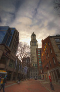 Quincy Market Photos - Custom House by Joann Vitali