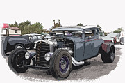 Viva Las Vegas Photos - Custom Model A Coupe by Steve McKinzie