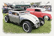 Ford Sedan Framed Prints - Custom VW Bug Framed Print by Steve McKinzie