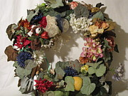 Etc. Mixed Media - Custom Wreath 3 by HollyWood Creation By linda zanini
