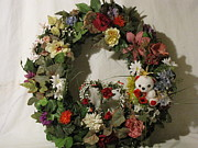 Etc. Mixed Media - Custom Wreath 4 by HollyWood Creation By linda zanini