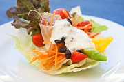 Lettuce Photo Originals - Cute Salad by Atiketta Sangasaeng