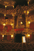 Recreational Structures Prints - Cuvillies Theater in The Print by Taylor S. Kennedy