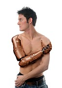 Future Tech Prints - Cybernetic Arm, Composite Image Print by Victor Habbick Visions