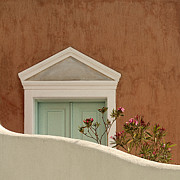 Cycladic Architecture Print by Manolis Tsantakis