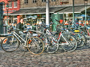 Malmo Digital Art - Cycle Stop by Arthur Wardle