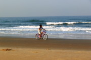 Cycling Originals - Cycling with the Waves by Padamvir Singh