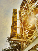 Brooklyn Art - Cyclone Sign by Frank Winters
