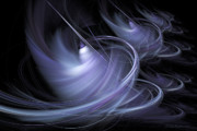 Fractal Geometry Digital Art Originals - Cyclone by William Wright