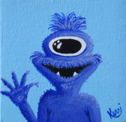 Friendly Paintings - Cyclops by Kerri Ertman