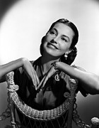 Charisse Framed Prints - Cyd Charisse, 1952 Framed Print by Everett