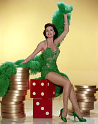 Full-length Portrait Photo Posters - Cyd Charisse Poster by Everett