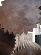 Machinery Photos - Cylindrical Gears by Yali Shi