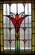 Stained Glass Art - Cyndees window by Alan Carlson