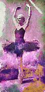 Shoe Digital Art - Cynthia in Black Tutu by Cynthia Sorensen