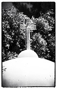 Crucifix Art Photo Posters - Cypriotic Crucifix Poster by John Rizzuto
