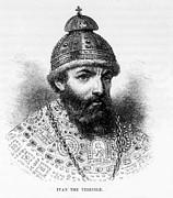 Czar Ivan Iv Aka Ivan The Terrible Print by Everett