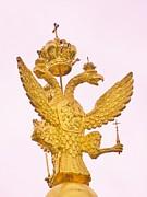 Czarism Royal Crest Print by Gunter  Hortz