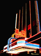 Gigs Art - D and R Theatre - Aberdeen WA by Sadie Reneau