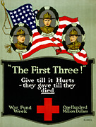 First World War Painting Metal Prints - D Cross Poster 1917 Metal Print by Granger