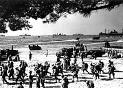 Allies Photos - D-day, Alpha Red Beach D-day, Operation by Everett