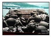 Joan  Minchak - D Day Normandy