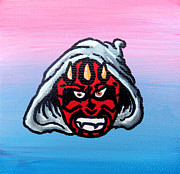 Acrylic Image Paintings - D Maul by Jera Sky