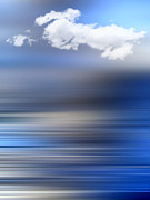 Fine Photography Art Photos - D-motion Blue by Viaina